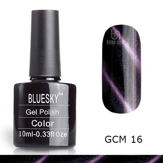 Bluesky, гель-лак Кошачий глаз GCM 16, Cat eye, 10 мл