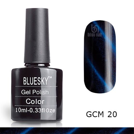 Bluesky, гель-лак Кошачий глаз GCM 20, Cat eye, 10 мл