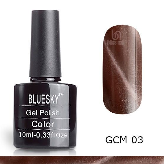 Bluesky, гель-лак Кошачий глаз GCM 03, Cat eye, 10 мл