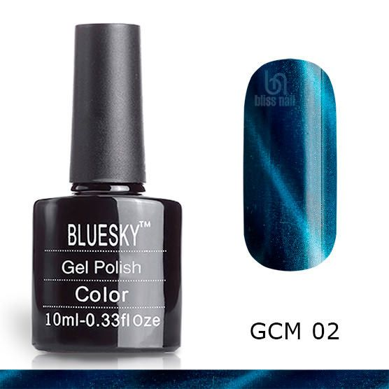 Bluesky, гель-лак Кошачий глаз GCM 02, Cat eye, 10 мл