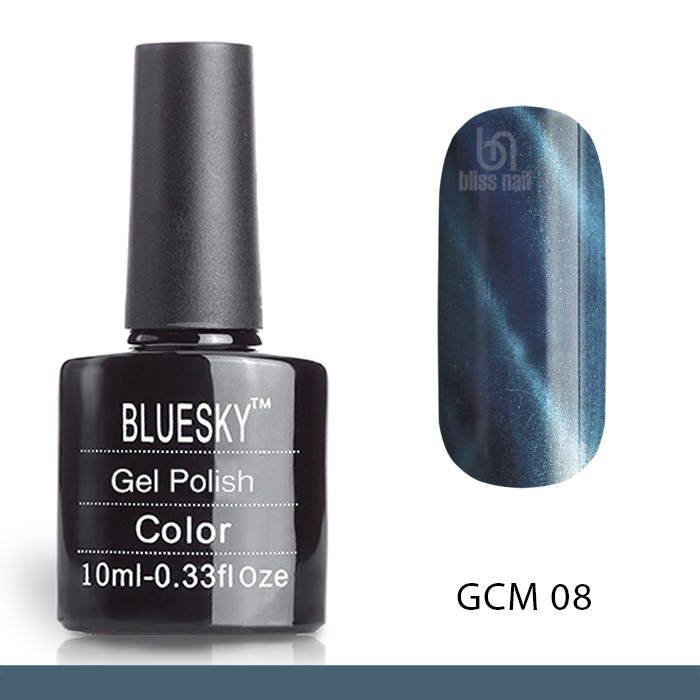 Bluesky, гель-лак Кошачий глаз GCM 08, Cat eye, 10 мл