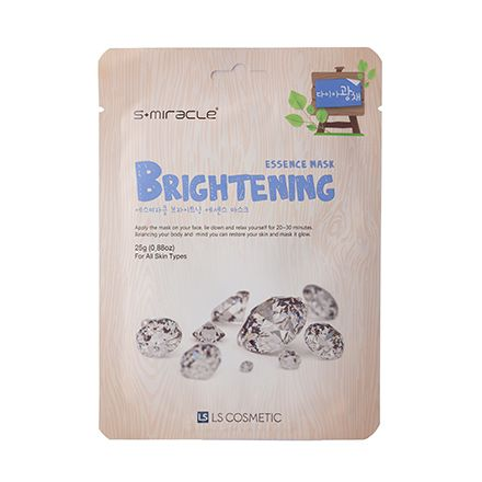 S+miracle, Маска для лица Brightening Essence Mask, 25 г