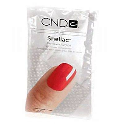 CND Shellac, Замотка Remover Wraps 10 штук