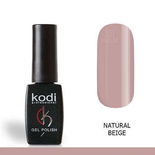 Kodi, База Natural Rubber Base, Natural Beige, 12 мл
