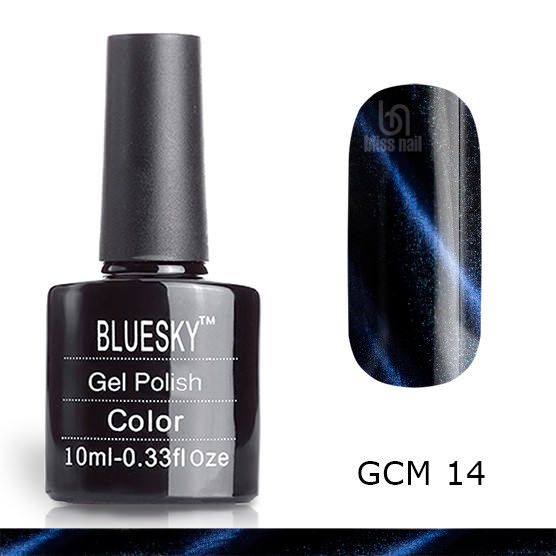 Bluesky, гель-лак Кошачий глаз GCM 14, Cat eye, 10 мл