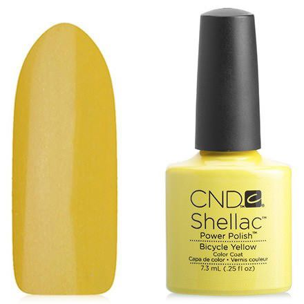 CND, Гель-лак Bicycle Yellow, 7,3 мл