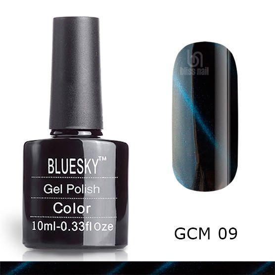 Bluesky, гель-лак Кошачий глаз GCM 09, Cat eye, 10 мл